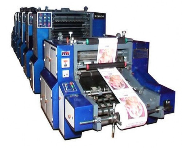 4 Color Computer Stationery Printing Machine