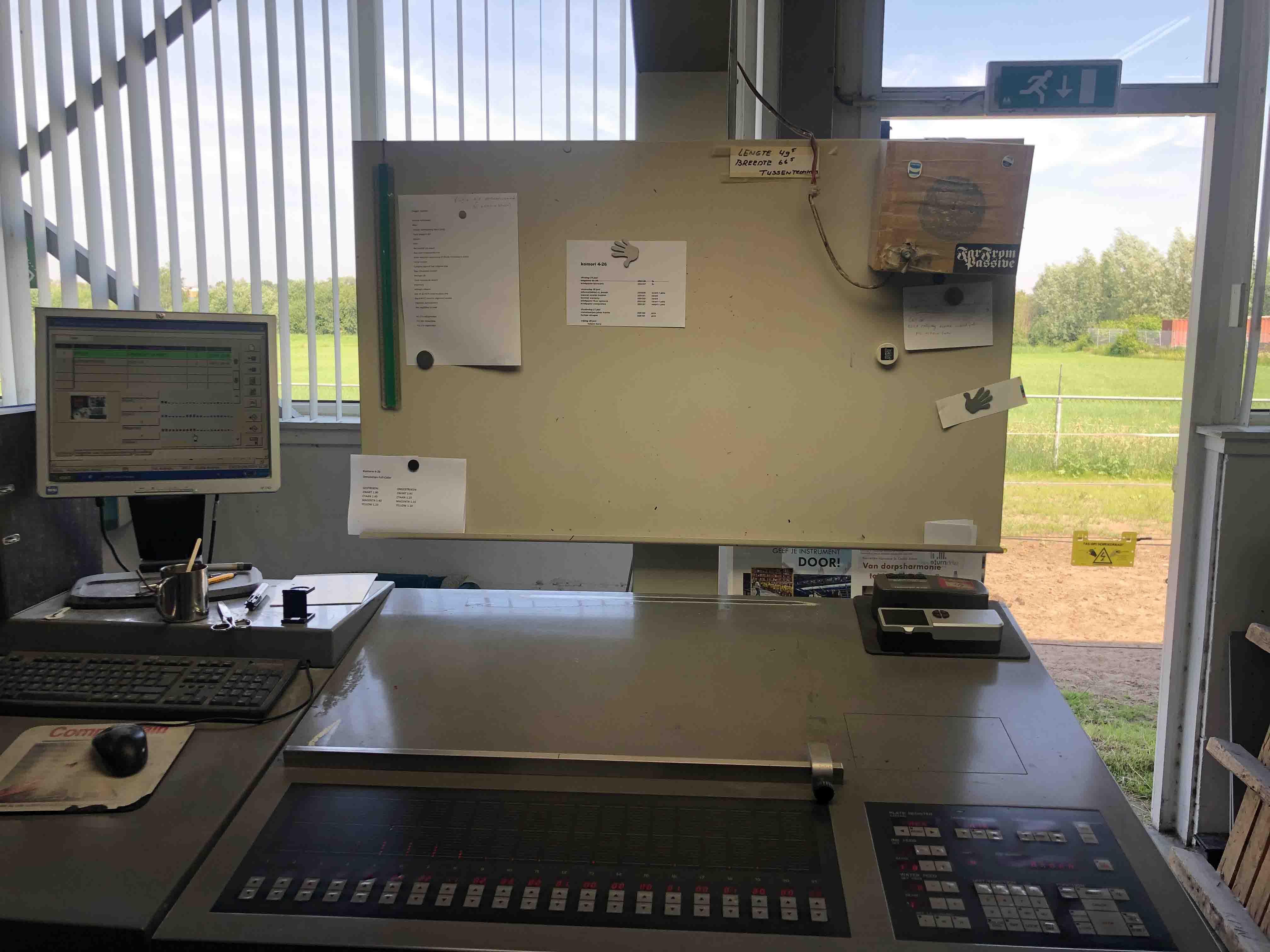 Komori Lithrone 426 Offset Printing Machine