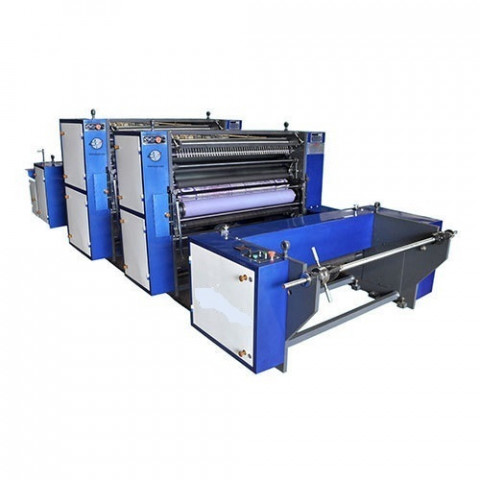 Romco Roll To Roll Non Woven And Paper Printing Machine