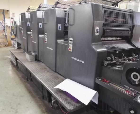 Heidelberg MOVH, 1991 Offset Printing Machine