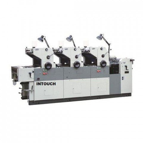 Multi Color Automatic Three Color Offset Printing Machine