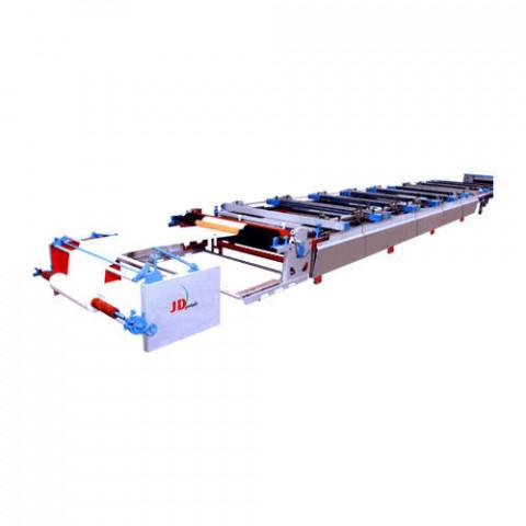 JD Automatic Multicolor Flat Screen Printing Machine