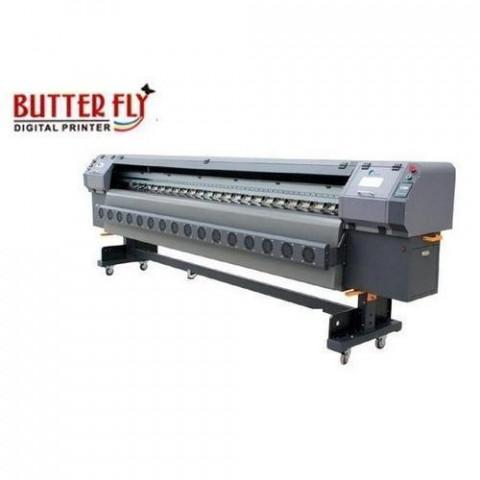 Konica Head Semi-Automatic Flex Printing Machine
