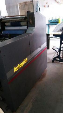 Used Autoprint 1510 Mini Offset Printing Machine