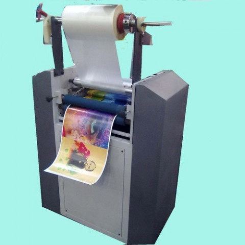 Semi Automatic Roll To Roll Thermal Lamination Machine