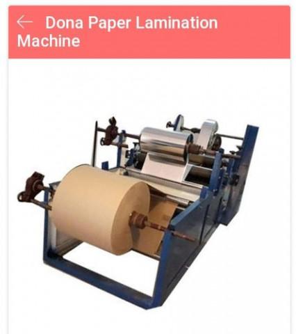 GTM Paper Plate Lamination Machine