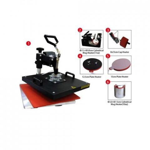DPM Okoboji Sublimation Combo Heat Press 6in1