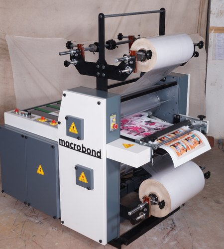 Macro Print Double Side Laminating Machine