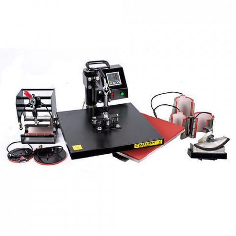 Super 8 in 1 Combo Heat Press Machine