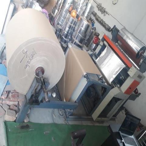 Lakshya Automatic Dona Silver Paper Lamination Machine