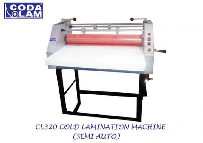 CL320 Cold Lamination Machine Semi Automatic