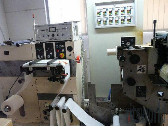 Used Nilpeter B-200 5 Color Letter Press