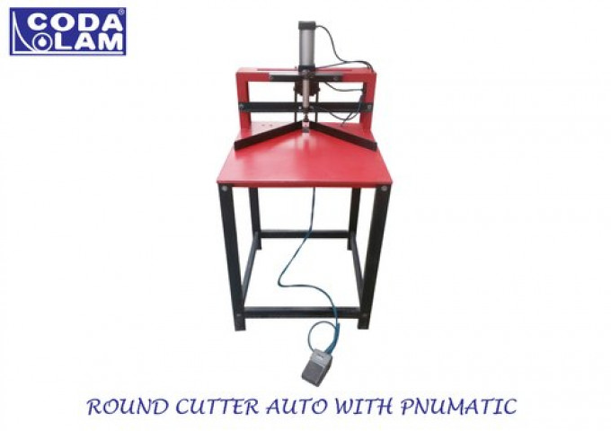 Fotolaminate Round Corner Cutter Auto With Pneumatic System