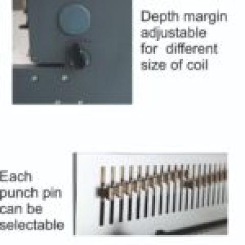 Electric Spiral Binder Machine 14inch 360mm Model - Pc360e