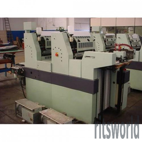 Used Adast Dominant 525 Two Color Offset Printing Machine