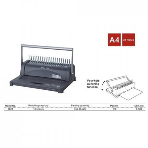 Hexadecimal Comb Binding Machine 8621