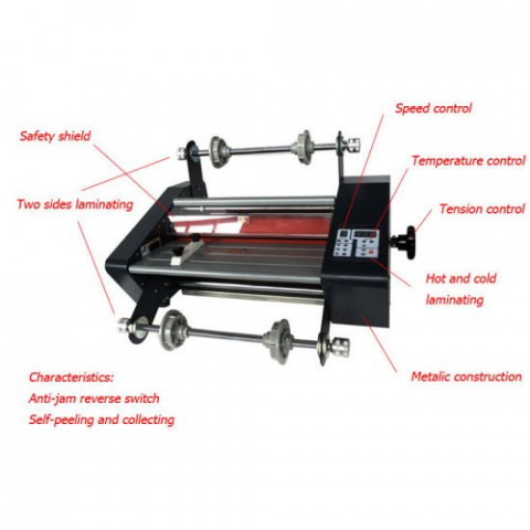 360mm 14 Inch Thermal Lamination Machine