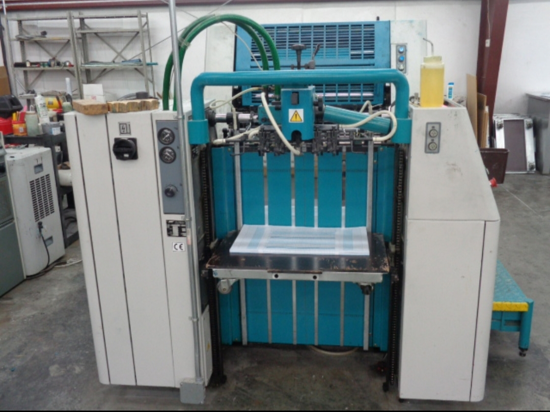 GK Used Automatic Polly 266 Offset Printing Machine