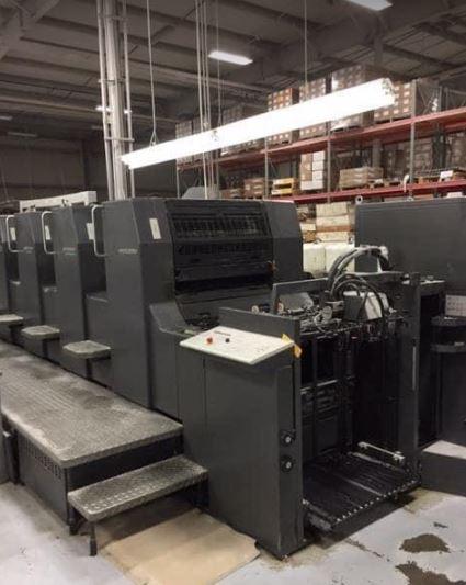 MD Used Heidelberg SM 74-5 Offset Printing Machine