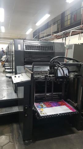 MD Used  Heidelberg SM 74-5+ L Offset Printing Machine