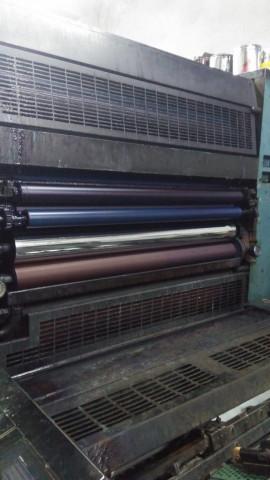 MD Used KBA Rapida 104-5-L Offset Printing Machine
