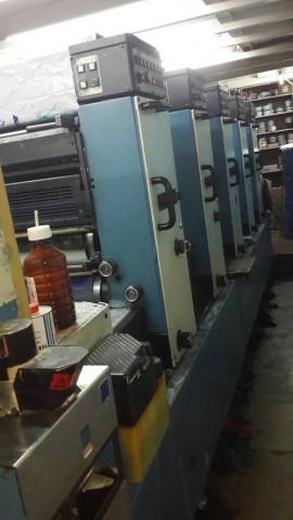 Used KBA Rapida 72-5 Offset Printing Machine