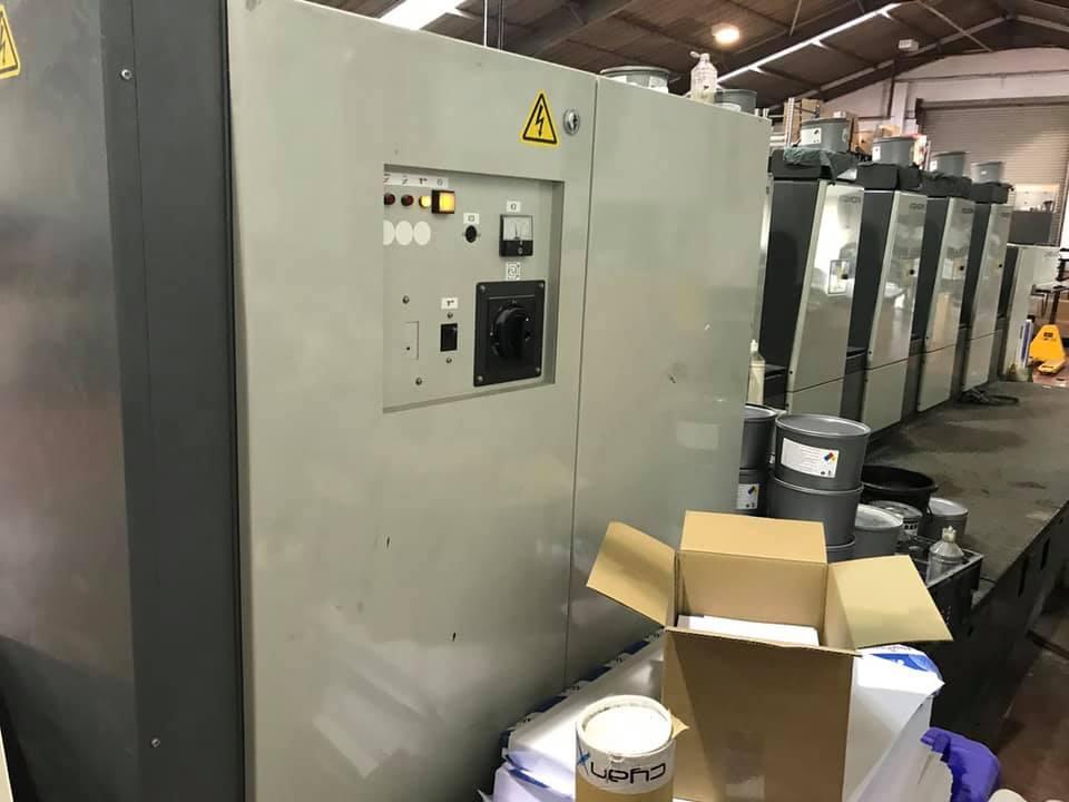 Komori New Lithrone 528 Offset Printing Machine