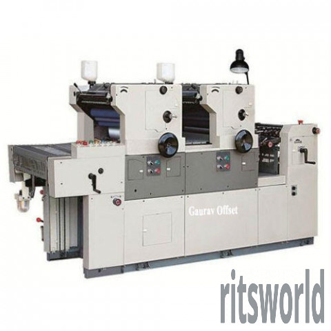 16&22 Two Colour Paper Offset Printing Machine