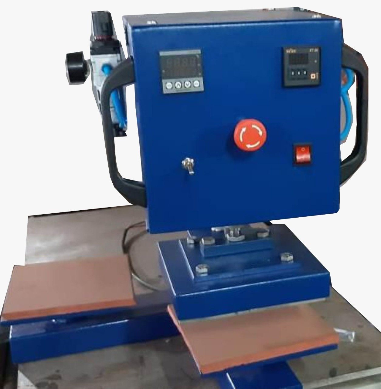 Automatic Double Bed Heat Press Machine  EM - 66ADB