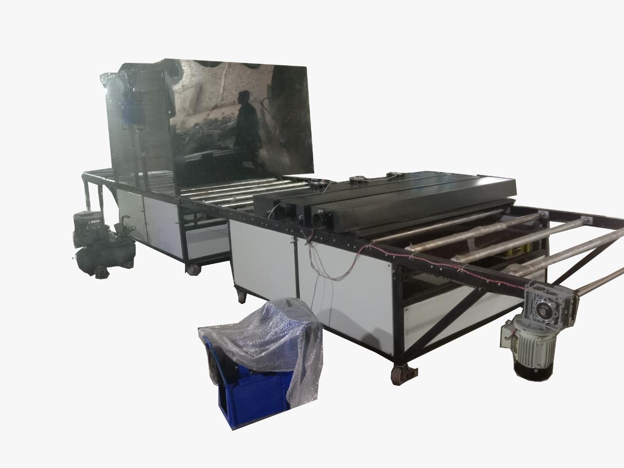 Spray UV Coating & Curing Machine