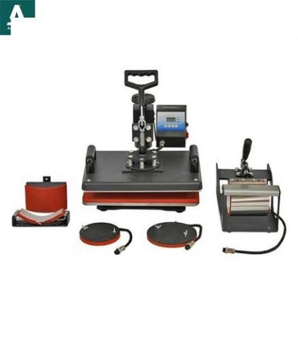 5 In 1 Combo Heat Press Machine