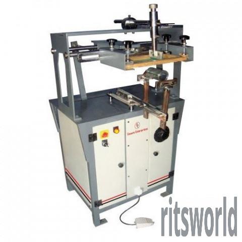 Small Round Screen Printing Machine