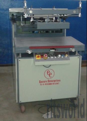 Clamshell Flat Screen Printing Machine