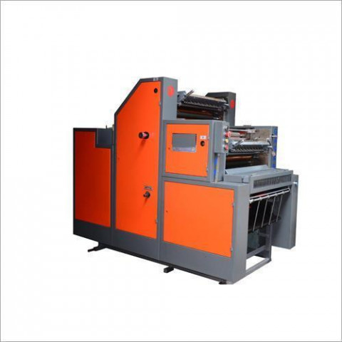 Two Color Satellite Non Woven Bag Printing Machine