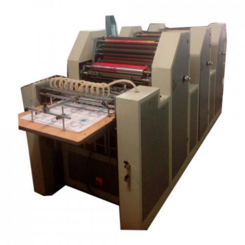 Automatic Three Color Non Woven Bag Printing Machine