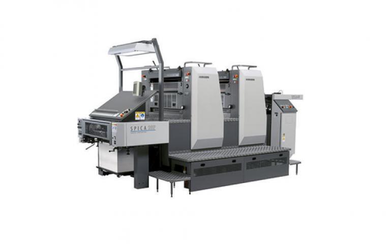 Komori 29P Spica Convertible Perfecting Offset Printing Press